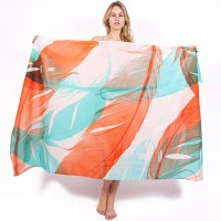 Dual Feathers Sarong/Scarf