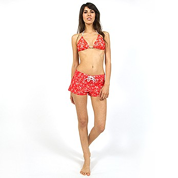 Boardshorts Red Starfish
